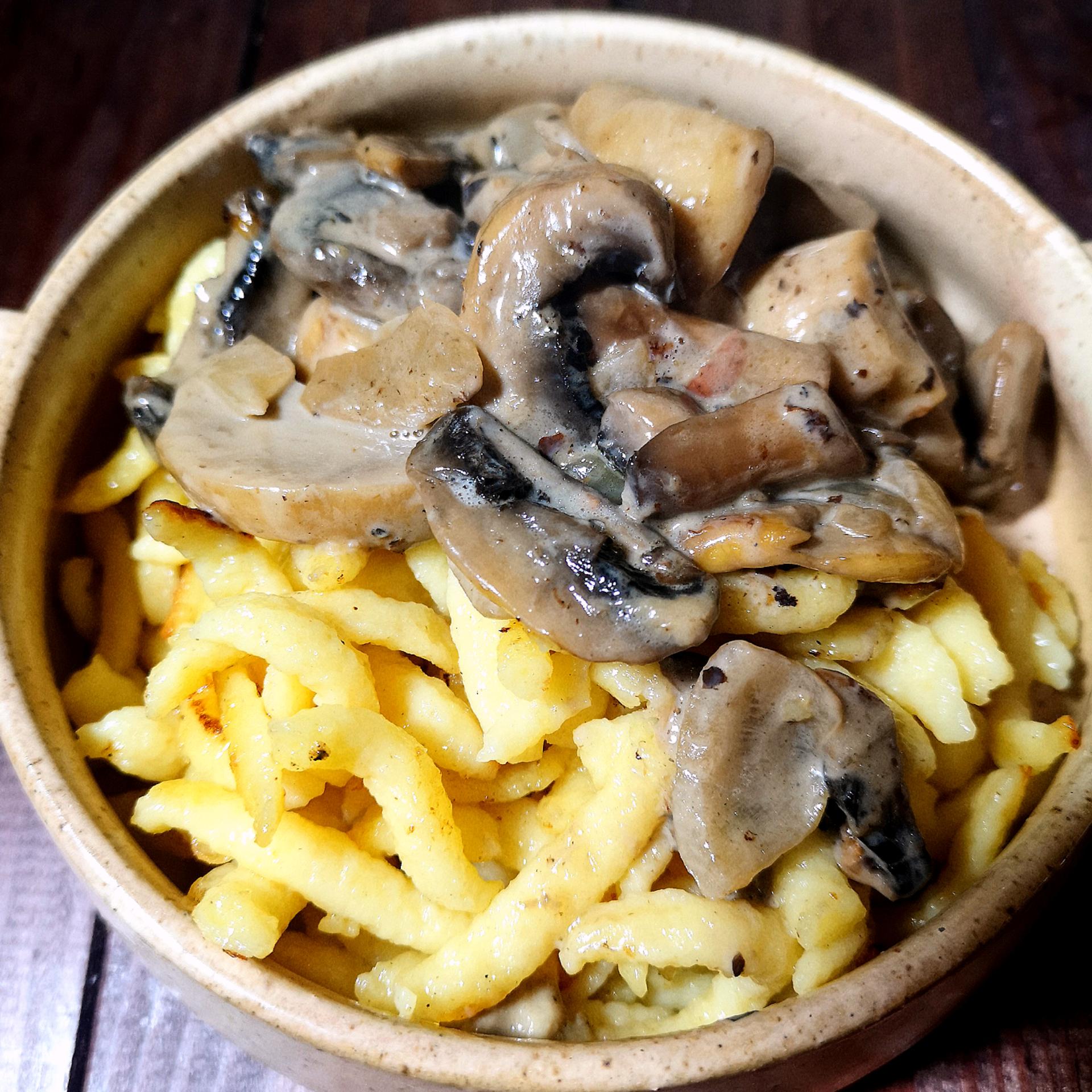 champignon soße